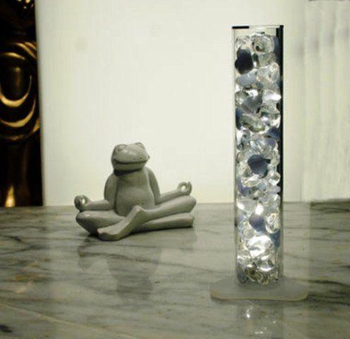 feng shui kristall lampe intuition crystal light led ebay. Black Bedroom Furniture Sets. Home Design Ideas